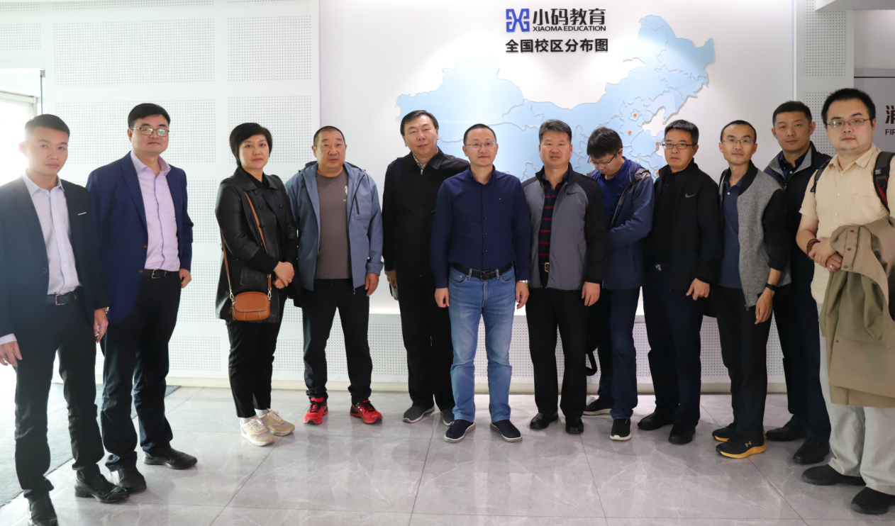 王江有(左六)与北京、浙江两地民进联络委合影留念